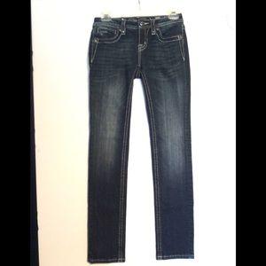Miss Me Jeans Girls Size 14 Skinny Cut